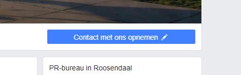 Contactknop Facebook