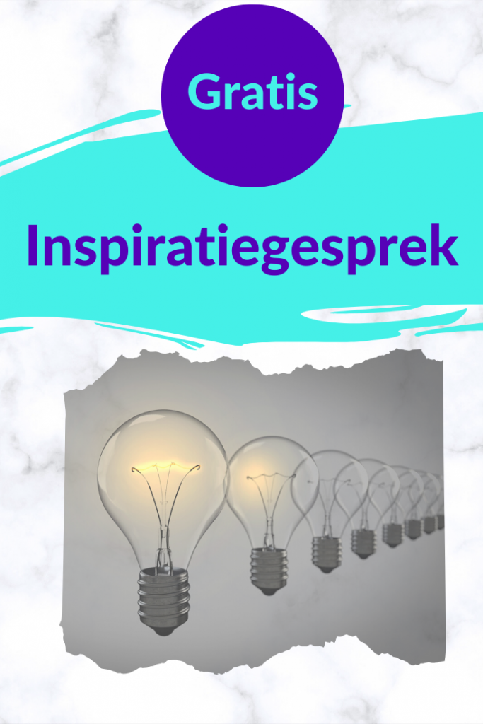 Gratis: inspiratiegesprek