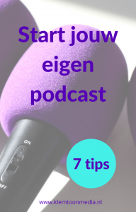 e-boek: start jouw eigen podcast - 7 tips