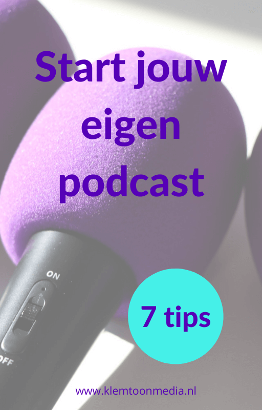 e-boek: start jouw eigen podcast - 7 tips